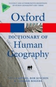 A Dictionary of Human Geography.