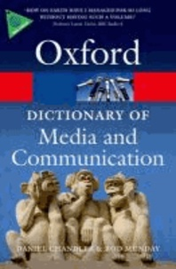 A Dictionary of Media and Communication.