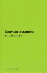 Histoiresdenlire.be Nouveau Testament et Psaumes - Couverture vinyle verte Image