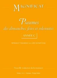 A.E.L.F - Psaumes des dimanches, fêtes et solennités Année C - Refrains et psalmodies, livret de partitions.