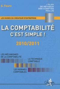 A Faure - La comptabilité, c'est simple ! - 2010/2011.