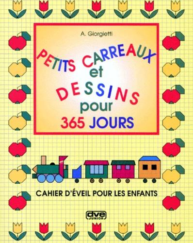 Petits Carreaux Et Dessins Pour 365 Jours Cahier Déveil Pour Les Enfants