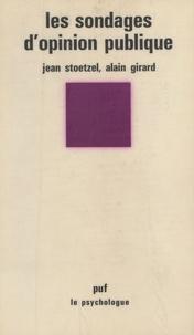 A Girard et Jean Stoetzel - .