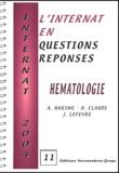 A Hakime et O Claude - Hématologie.