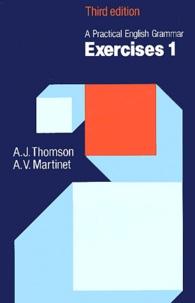 A-J Thomson et A-V Martinet - A practical english grammar - Exercises 1, 3rd edition.