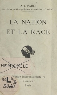 A. L. Paoli - La nation et la race.