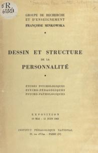 A.-M. Baumier et M. Bonnafous - Dessin et structure de la personnalité - Études psychologiques, psycho-pédagogiques, psycho-pathologiques. Exposition, 10 mai-15 juin 1963.
