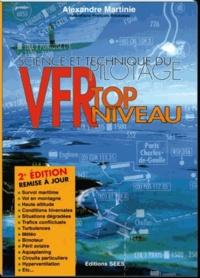 A Martinie - VFR top niveau - Science et technique du pilotage.