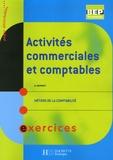 A Monnet - Activités commerciales et comptables BEP Métiers de la comptabilité - Exercices.
