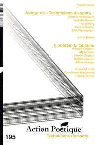 Volker Braun et Jerome Rothenberg - Action Poétique N° 195, Mars 2009 : Techniciens du sacré.