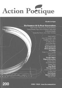 Henri Deluy - Action Poétique N° 200 : Six femmes de la Beat Generation.