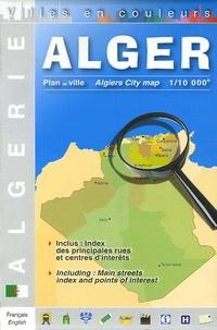 Editions Laure Kane - Alger Plan de ville - 1/10 000, Edition bilingue français-anglais.