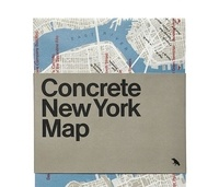 XXX - Concrete new york map.
