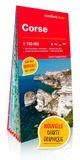 XXX - Corse 1/150.000 (carte grand format laminée).
