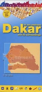 Editions Laure Kane - Dakar et ses environs - 1/16 000.