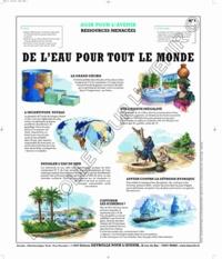 Deyrolle pour l'avenir - De l'eau pour tout le monde - Poster 50x60.