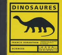 Francis Duranthon - Dinosaures. 1 CD audio