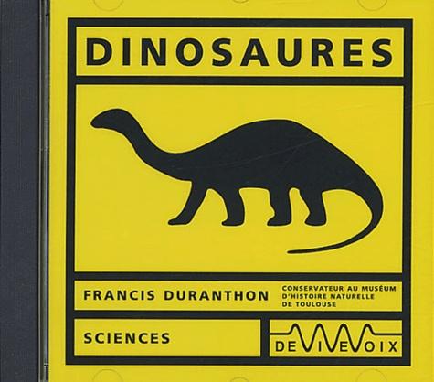 Francis Duranthon - Dinosaures. 1 CD audio