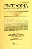 Jean-Claude Besson-Girard - Entropia N° 13, autonme 2012 : La décroissance et l'Etat.