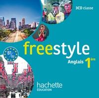 James Windsor et Peter Chilvers - Freestyle Première - anglais - CD audio classe - Edition 2015.