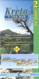 Harms Verlag - Kreta/Crete Der Osten/Eastern Part - 1 : 100 000.
