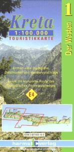 Harms Verlag - Kreta/Crete Der Westen/Western Part - 1 : 100 000.