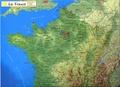 Mediaplus - La France - 1/40 000.