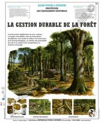 Deyrolle pour l'avenir - La gestion durable de la forêt - Poster 50x60.
