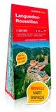 XXX - Languedoc-Roussillon 1/330.000 (carte grand format.