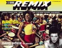 Olivier Cachin et David Commeillas - Le grand remix N° 1, Printemps 2013 : David Bowie en images.
