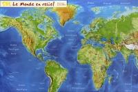 Mediaplus - Le monde en relief - Carte en relief.