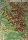 Média Plus - Le Parc national des Ecrins - Carte en relief.