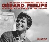 Gérard Philipe - LES GRANDES INTERPRÉTATIONS DE GÉRARD PHILIPE - (moliere • la fontaine • marx • cervantes).