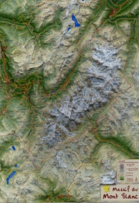Mediaplus - Les grands sites naturels de France - Massif du Mont Blanc.
