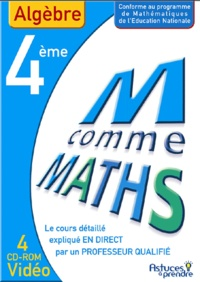 Nicole Beltzung et Olivier Malinaud - Maths Algèbre 4e - CD-ROM.