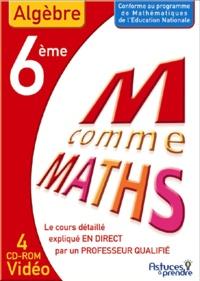 Nicole Beltzung et Olivier Malinaud - Maths Algèbre 6e - CD-ROM.