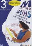 Cogan et  Tillier - M comme Maths Géométrie 3e - Un an de cours particuliers en vidéo, DVD.