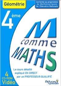 Nicole Beltzung et Olivier Malinaud - Maths Géométrie 4e - CD-ROM.