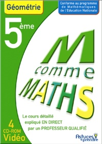 Nicole Beltzung et Olivier Malinaud - Maths Géométrie 5e - CD-ROM.
