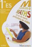 Elise Legghe et Murielle Birba - M comme Maths Programme complet 1e ES - Un an de cours particuliers en vidéo, 4 DVD.