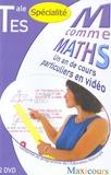 Homework - M comme Maths Tle ES spécialité - 2 DVD.