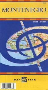 Map Link - Montenegro - 1/250 000.