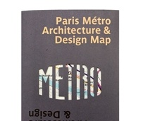 Ovenden Mark - Paris metro architecture & desing map.