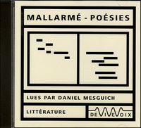 Stéphane Mallarmé - Poésies - CD audio.