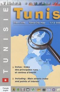 Editions Laure Kane - Tunis - 1/12 000.