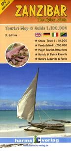 Harms Verlag - Zanzibar - 1/100 000.