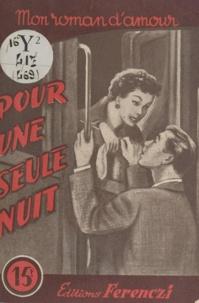 A. Prele - Pour une seule nuit.