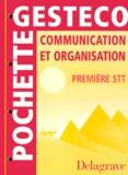 A Schubmehl et C Thomas - Communication et organisation, première STT.