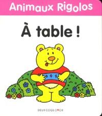 Jenny Tulip - A table !.