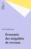 A Wolfelsperger - Économie des inégalités de revenus.